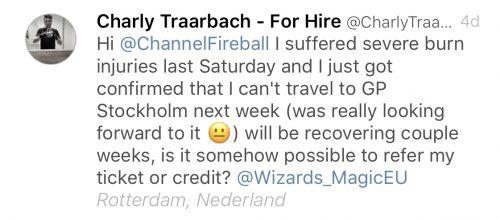 Tweet Charly Traarbach
