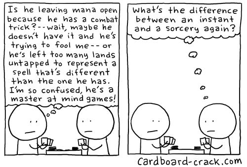 Cardboard Crack: Mind Games