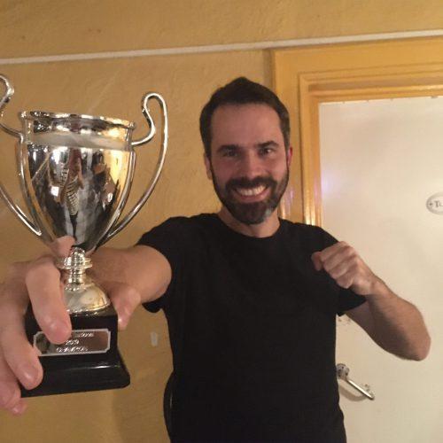 Cubevitational winnaar Tijs!