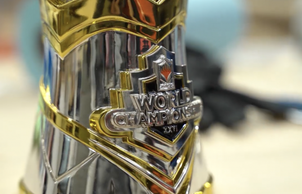 World Championship XXVI trophy
