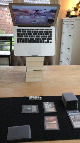 Macbook webcam setup