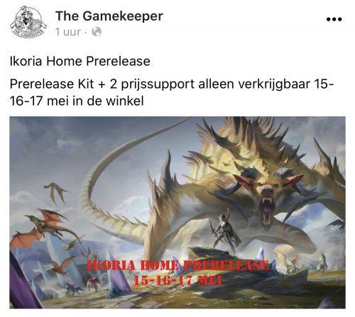 Gamekeeper prerelease Ikoria